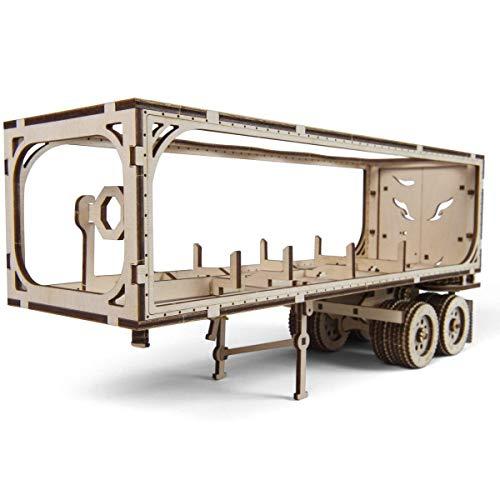 Ugears Vm 03 Rimorchio Per Camion Da Abbinare Al Camion Vm 03 Modellino In Legno Da Costruire 0 0