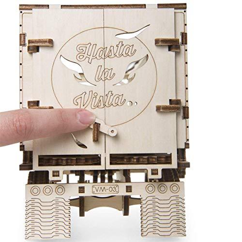 Ugears Vm 03 Rimorchio Per Camion Da Abbinare Al Camion Vm 03 Modellino In Legno Da Costruire 0 1