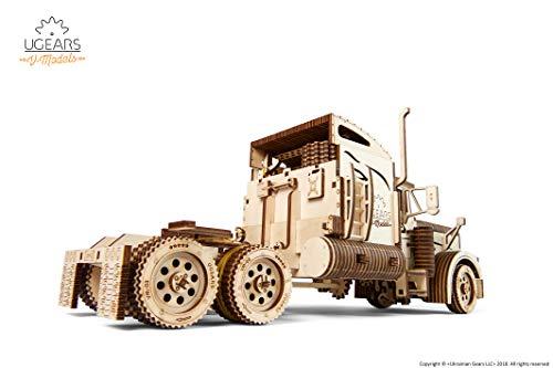 Ugears Vm 03 Rimorchio Per Camion Da Abbinare Al Camion Vm 03 Modellino In Legno Da Costruire 0 2