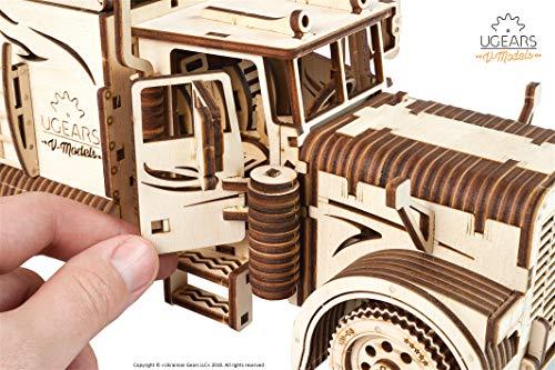 Ugears Vm 03 Rimorchio Per Camion Da Abbinare Al Camion Vm 03 Modellino In Legno Da Costruire 0 3