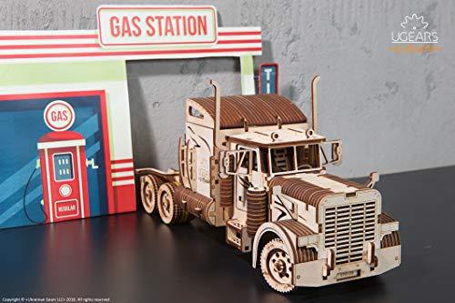 Ugears Vm 03 Rimorchio Per Camion Da Abbinare Al Camion Vm 03 Modellino In Legno Da Costruire 0 4