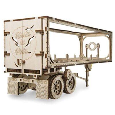 Ugears Vm 03 Rimorchio Per Camion Da Abbinare Al Camion Vm 03 Modellino In Legno Da Costruire 0