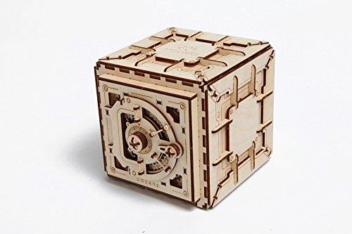 Ugears Cassaforte Da Costruire Con Combinazione Modellino Di Progetti Per Adulti 0 0