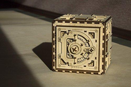 Ugears Cassaforte Da Costruire Con Combinazione Modellino Di Progetti Per Adulti 0 2