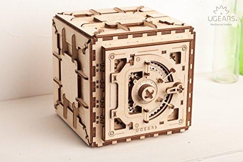 Ugears Cassaforte Da Costruire Con Combinazione Modellino Di Progetti Per Adulti 0 3
