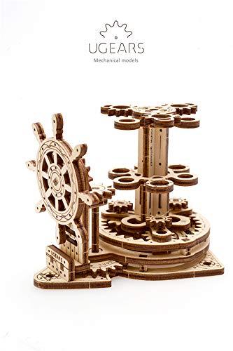 Ugears Wheel Organizer Puzzle 3d Per Adulti Portapenne In Legno Ecologico Modello Meccanico Puzzle Di Legno Rompicapo In Legno Per Adulti Giocattolo Educativi Per Bambini 0 4
