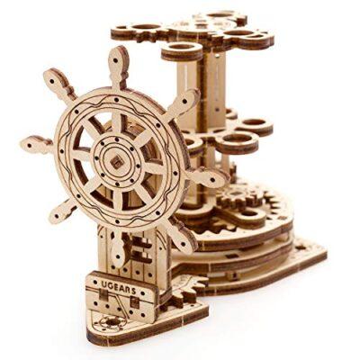 Ugears Wheel Organizer Puzzle 3d Per Adulti Portapenne In Legno Ecologico Modello Meccanico Puzzle Di Legno Rompicapo In Legno Per Adulti Giocattolo Educativi Per Bambini 0