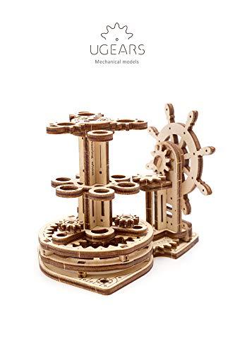 Ugears Wheel Organizer Puzzle 3d Per Adulti Portapenne In Legno Ecologico Modello Meccanico Puzzle Di Legno Rompicapo In Legno Per Adulti Giocattolo Educativi Per Bambini 0 5
