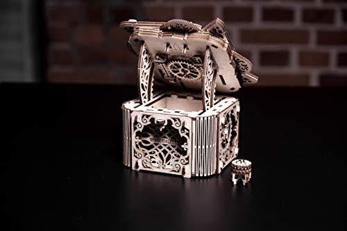 Woodencity Modello In Legno Scrigno Misterioso Puzzle 3d Meccanico Mystery Box By Modellino Di Progetti Per Adulti E Bambini 3d Modello Tecnico In Legno 0 4