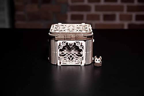 Woodencity Modello In Legno Scrigno Misterioso Puzzle 3d Meccanico Mystery Box By Modellino Di Progetti Per Adulti E Bambini 3d Modello Tecnico In Legno 0 5