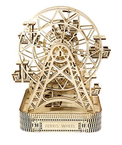 Woodencity Puzzle 3d Meccanico Ruota Panoramica Ferris Fheel By Modellino Di Progetti Per Adulti E Bambini 3d Modello Tecnico In Legnoeel 0 0