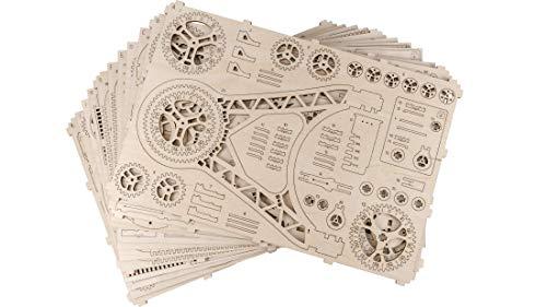 Woodencity Puzzle 3d Meccanico Ruota Panoramica Ferris Fheel By Modellino Di Progetti Per Adulti E Bambini 3d Modello Tecnico In Legnoeel 0 1