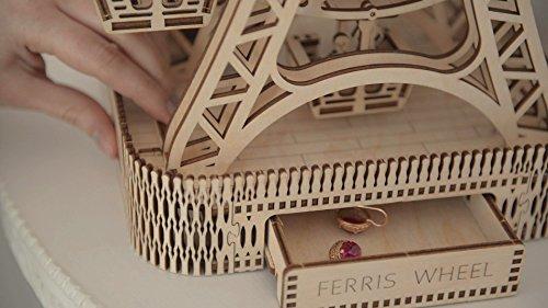 Woodencity Puzzle 3d Meccanico Ruota Panoramica Ferris Fheel By Modellino Di Progetti Per Adulti E Bambini 3d Modello Tecnico In Legnoeel 0 3