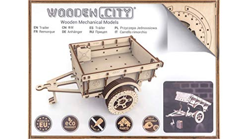 Woodencity Trailer For 44 Puzzle 3d 0 1