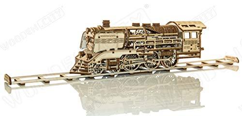 Wooden City Puzzle In Legno 3d In Legno Express Binari Del Treno 0 0