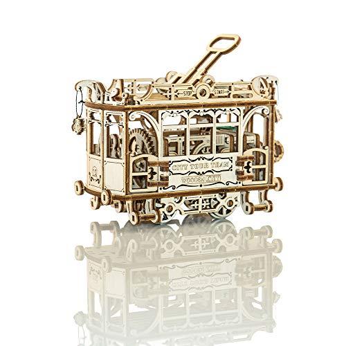 Wooden City Wr320 Puzzle Di Legno Puzzle 3d Tram Della Citt Con Le Rotaie 256 Pezzi 0 0