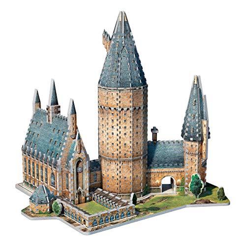 Wrebbit 3d Harry Potter Puzzle 3d Diorama Castello Di Hogwarts Great Hall Sala Grande 850 Pezzi 0 0