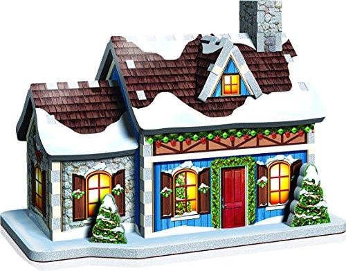 Wrebbit 3d Puzzle Christmas Village Puzzle Collection 116 Pezzi Grandi 0 0
