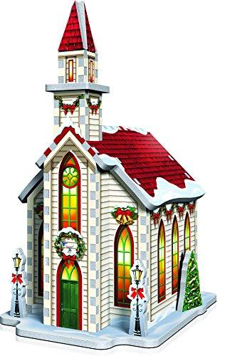 Wrebbit 3d Puzzle Christmas Village Puzzle Collection 116 Pezzi Grandi 0 1