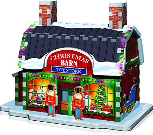 Wrebbit 3d Puzzle Christmas Village Puzzle Collection 116 Pezzi Grandi 0 2