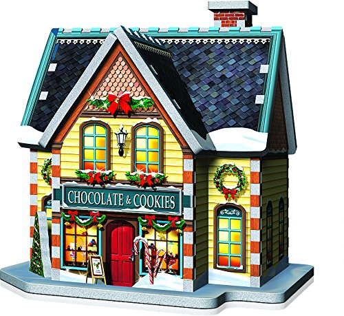 Wrebbit 3d Puzzle Christmas Village Puzzle Collection 116 Pezzi Grandi 0 4