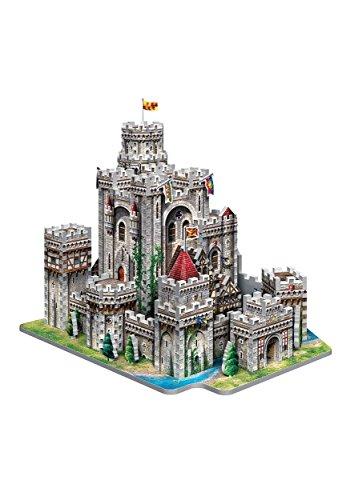 Wrebbit 3d Puzzle Puzzle 3d Castello Di Re Art A Camelot 865 Pezzi 0 0
