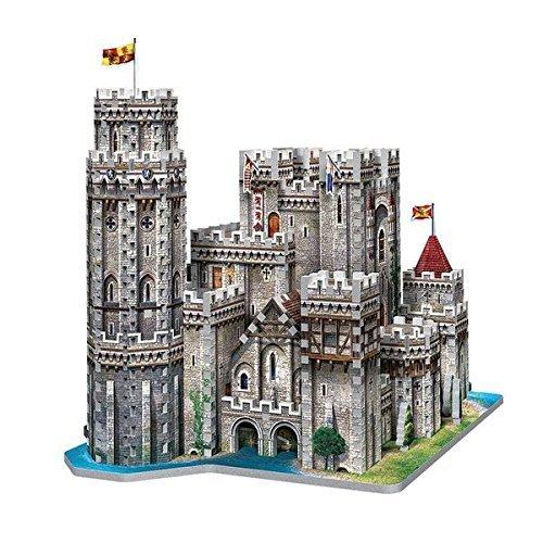 Wrebbit 3d Puzzle Puzzle 3d Castello Di Re Art A Camelot 865 Pezzi 0 1