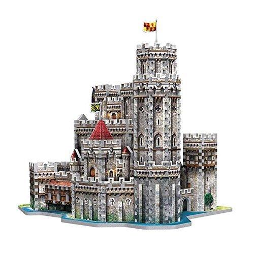 Wrebbit 3d Puzzle Puzzle 3d Castello Di Re Art A Camelot 865 Pezzi 0 2