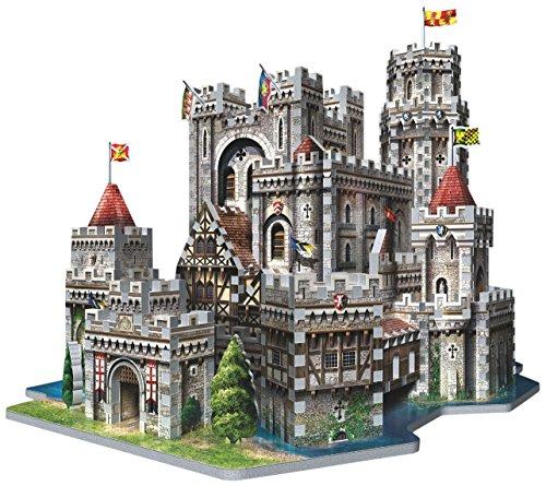 Wrebbit 3d Puzzle Puzzle 3d Castello Di Re Art A Camelot 865 Pezzi 0