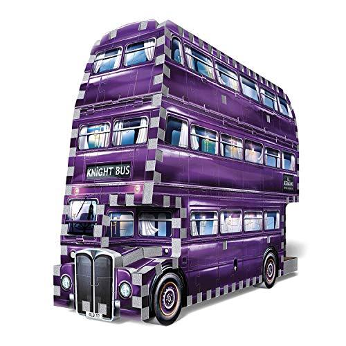 Wrebbit 3d W3d 0507 The Knight Bus Harry Potter Il Prigioniero Di Azkaban Ritter Von Wrebbit Puzzle 280 Pezzi 26 X 7 X 19 Cm 0 0