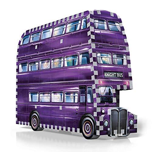 Wrebbit 3d W3d 0507 The Knight Bus Harry Potter Il Prigioniero Di Azkaban Ritter Von Wrebbit Puzzle 280 Pezzi 26 X 7 X 19 Cm 0 1