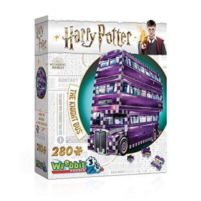 Wrebbit 3d W3d 0507 The Knight Bus Harry Potter Il Prigioniero Di Azkaban Ritter Von Wrebbit Puzzle 280 Pezzi 26 X 7 X 19 Cm 0