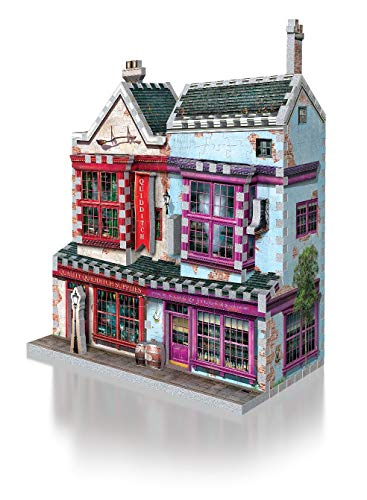 Wrebbit Puzzles Quidditch Supplies Slug Jiggers 3d Puzzle Colore Vario Standard W3d 0509 0 0