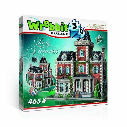 Wrebbit W3d 1003 Puzzle 3d Lady Victoria 465 Pezzi 0 0