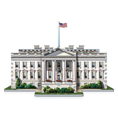 Wrebbit W3d 1007 Puzzle 3d White House 490 Pezzi 0 0