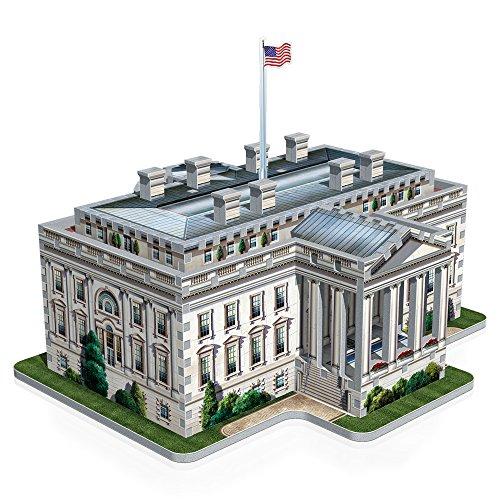 Wrebbit W3d 1007 Puzzle 3d White House 490 Pezzi 0 1