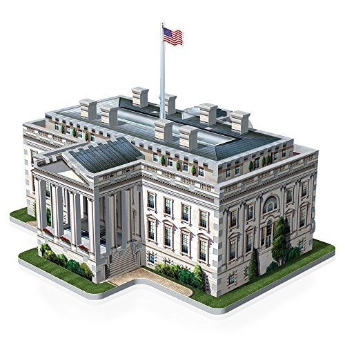 Wrebbit W3d 1007 Puzzle 3d White House 490 Pezzi 0 2