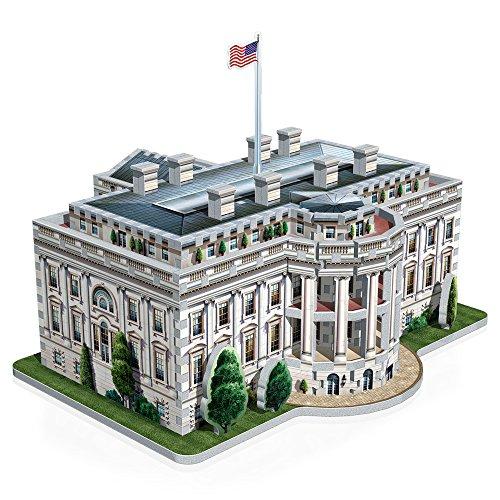 Wrebbit W3d 1007 Puzzle 3d White House 490 Pezzi 0 3