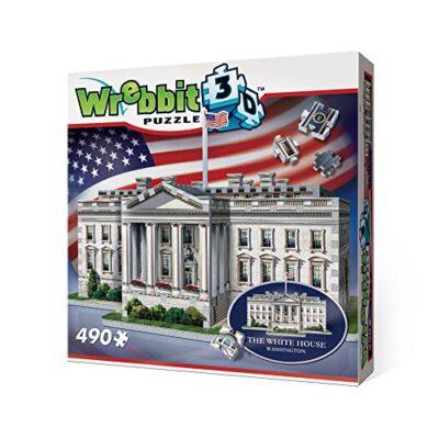 Wrebbit W3d 1007 Puzzle 3d White House 490 Pezzi 0