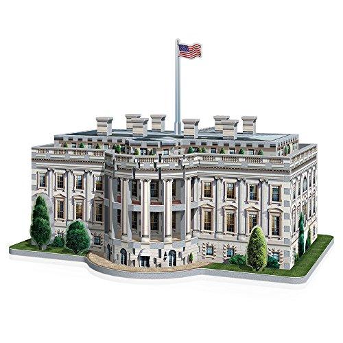 Wrebbit W3d 1007 Puzzle 3d White House 490 Pezzi 0 5