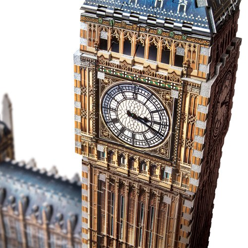 Wrebbit W3d 2002 Puzzle 3d Big Ben 890 Pezzi 0 0