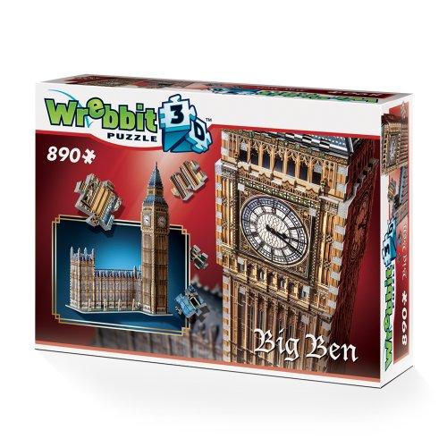Wrebbit W3d 2002 Puzzle 3d Big Ben 890 Pezzi 0 5