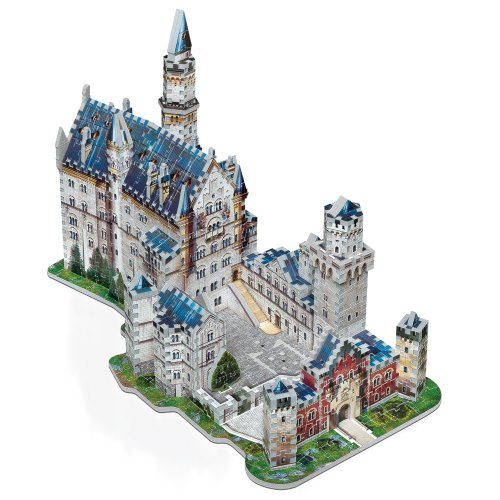 Wrebbit W3d 2005 Puzzle 3d Neuschwanstein Castle 890 Pezzi 0 0