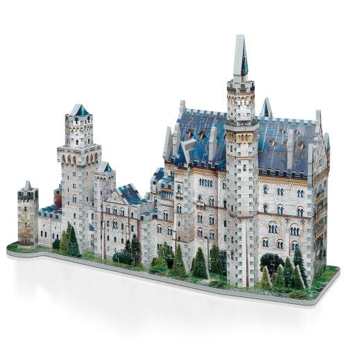 Wrebbit W3d 2005 Puzzle 3d Neuschwanstein Castle 890 Pezzi 0 1