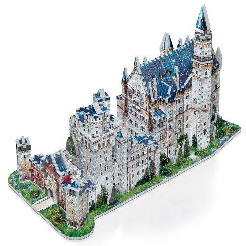 Wrebbit W3d 2005 Puzzle 3d Neuschwanstein Castle 890 Pezzi 0 2