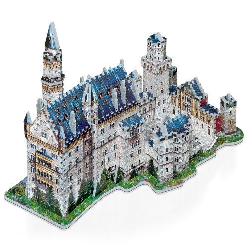 Wrebbit W3d 2005 Puzzle 3d Neuschwanstein Castle 890 Pezzi 0 3