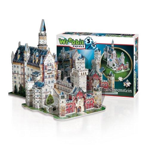 Wrebbit W3d 2005 Puzzle 3d Neuschwanstein Castle 890 Pezzi 0 4