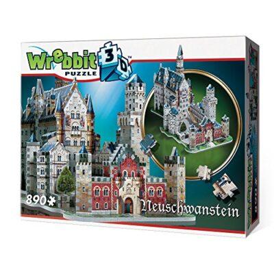 Wrebbit W3d 2005 Puzzle 3d Neuschwanstein Castle 890 Pezzi 0