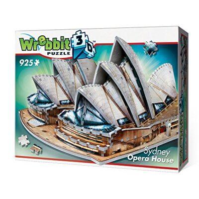 Wrebbit W3d 2006 Puzzle 3d Sydney Opera House 925 Pezzi 0