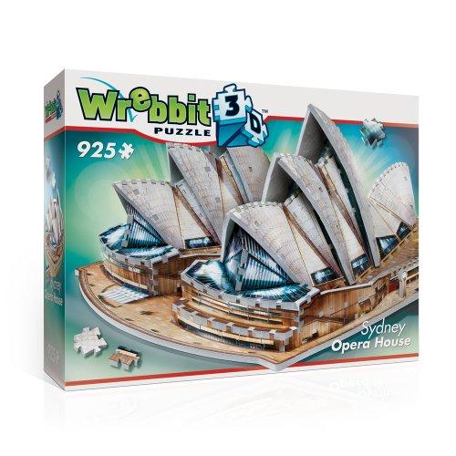 Wrebbit W3d 2006 Puzzle 3d Sydney Opera House 925 Pezzi 0 5